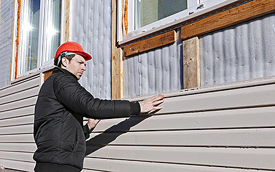 Replace the siding - exterior home upgrades