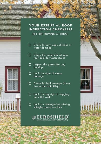 Roof Inspection Checklist Before Buying a House